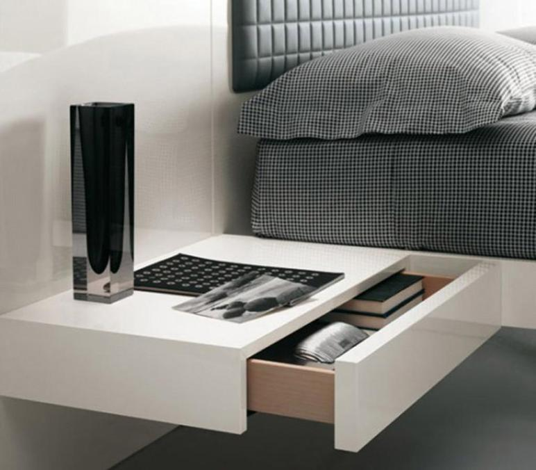 Modern Contemporary Bedside Table