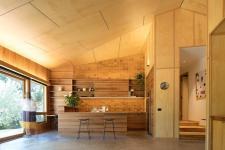 Modern Dark Wood Extension Designed Small Victorian