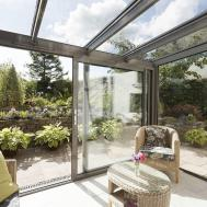 Modern Glass Extensions Apropos Conservatories