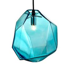 Modern Glass Pendant Lighting Chandeliers Blue Ceiling