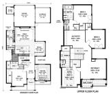 Modern Home Floor Plans Houses Flooring Ideas