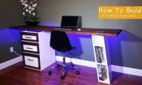 Modern Home Office Desk Interior Eksterior
