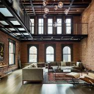 Modern Industrial 1890 New York Apartment Turned Into