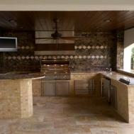Modern Kitchen Outdoor Kitchens Florida