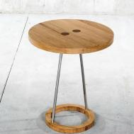 Modern Pedestal Side Table Home Design Ideas