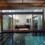 Modern Pool House Eclectic Decor 6547