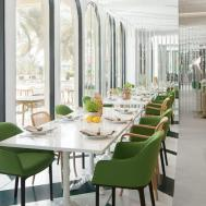 Modern Restaurant Design Blends European Lebanese Flavors