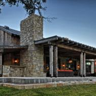 Modern Rustic Barn Style Retreat Texas Hill Country