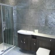 Modern Shower Bath Bathroom Stone Wall Panels Veneer