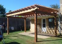 Modern Simple Pergola Gazebo Design Trends Attached