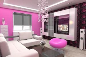 Modern Style Pink Sofas Architecture Interior Design