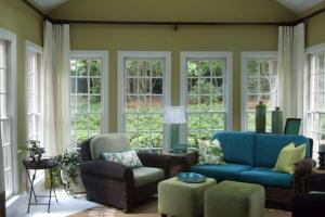 Modern Sunroom Interior Design Ideas Window
