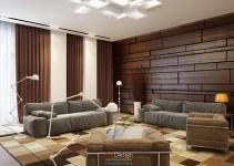Modern Wood Paneling Interior Design Ideas