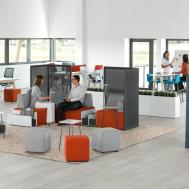 Modular Office Furniture Lounge Seating Steelcase