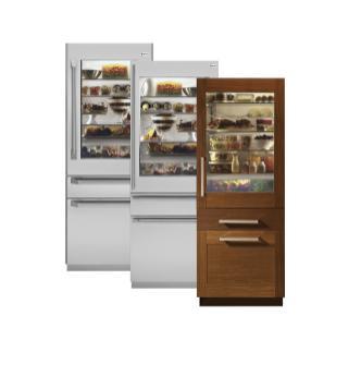 Monogram Integrated Glass Door Refrigerator