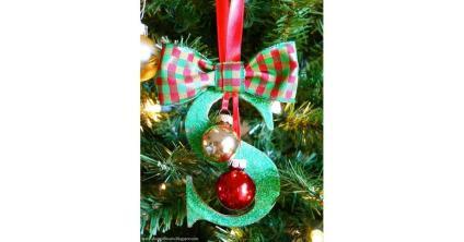 Monogram Ornament Diy Group Gifts Popsugar Smart