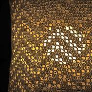 Moois Van Diy Gehaakte Lampenkap Crocheted Lamp