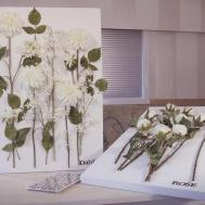 Mounting Flowers Canvas Arts Crafts Tutorial