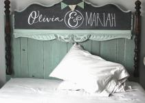 Namely Original Diy Girls Headboard