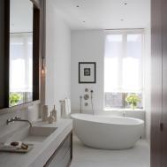 Natural White Bathroom Decorating Ideas Home Design