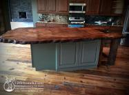 Natural Wood Countertops Live Edge Slabs