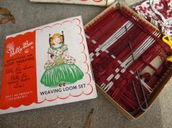 Nelly Bee Weaving Loom Set Naturalstatesalvage