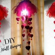 New Diy Heart Wall Hanging Craft Ideas Room Decoration