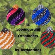 New Loomigurumi Amigurumi Christmas Ball Spiral