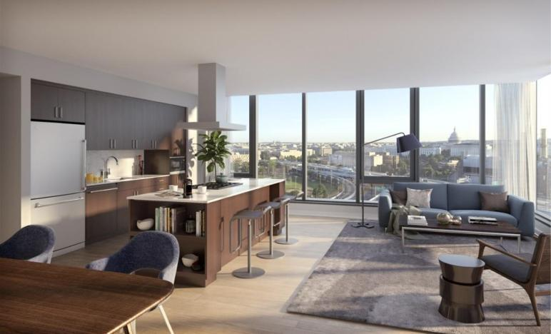 New York Style Luxury Apartments Come Nationals Park
