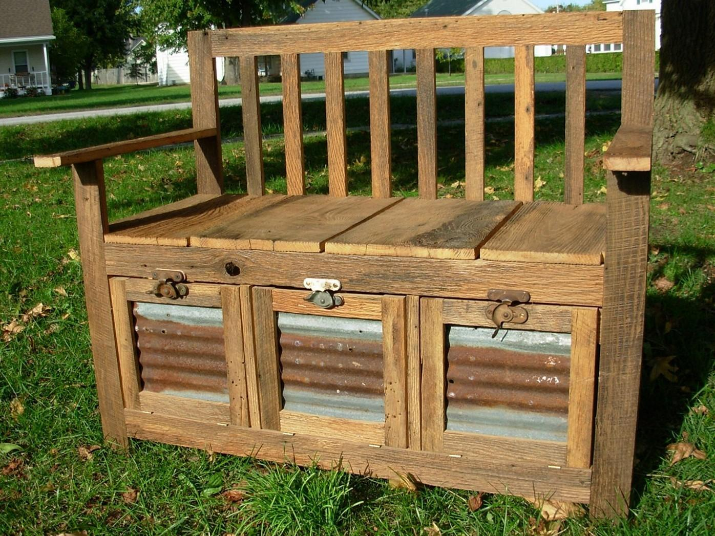 Incredible Diy Outdoor Storage Benches That Will Catch Your Eye Fantastic Pictures Decoratorist