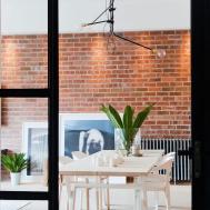 Nyc Loft Style Penthouse Brick Walls Takes Shape