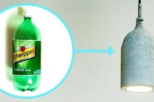 Old Plastic Soda Bottle Concrete Mix Sweet Diy Hanging