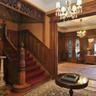 Old World Gothic Victorian Interior Design