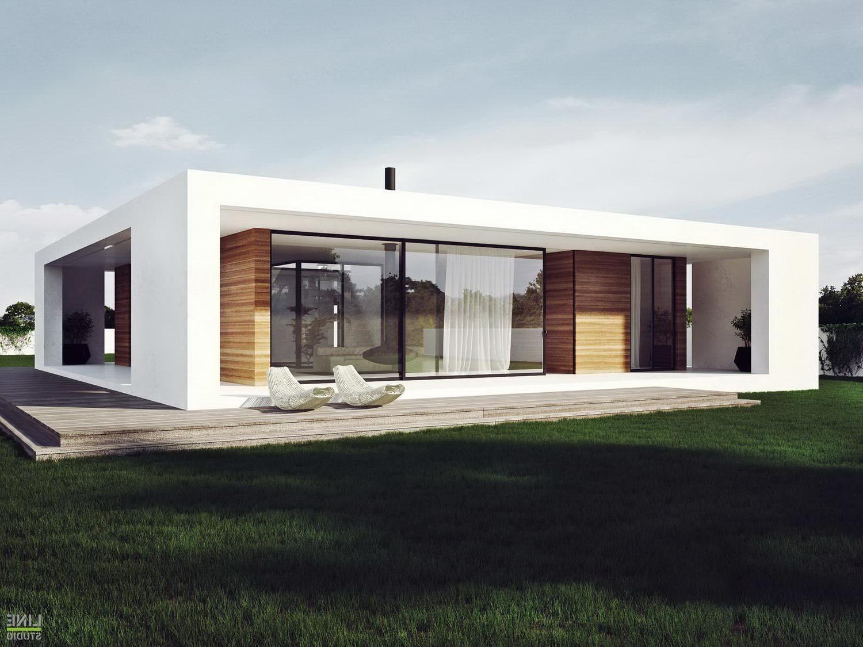 One Floor Modern House Plans Ahscgs - Decoratorist - #70090