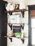 Open Kitchen Shelves Farmhouse Style Intentional Hospitality