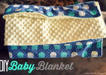 Orchard Girls Super Easy Diy Baby Blanket Tutorial