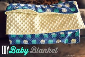 Orchard Girls Super Easy Diy Baby Blanket Tutorial