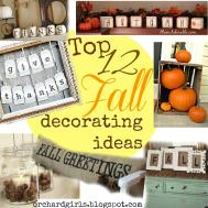 Orchard Girls Top Fall Decorating Ideas