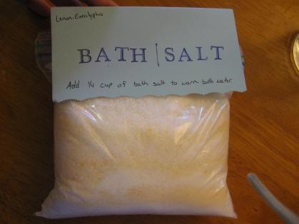 Ordinary Housewife Make Monday Homemade Bath Salts