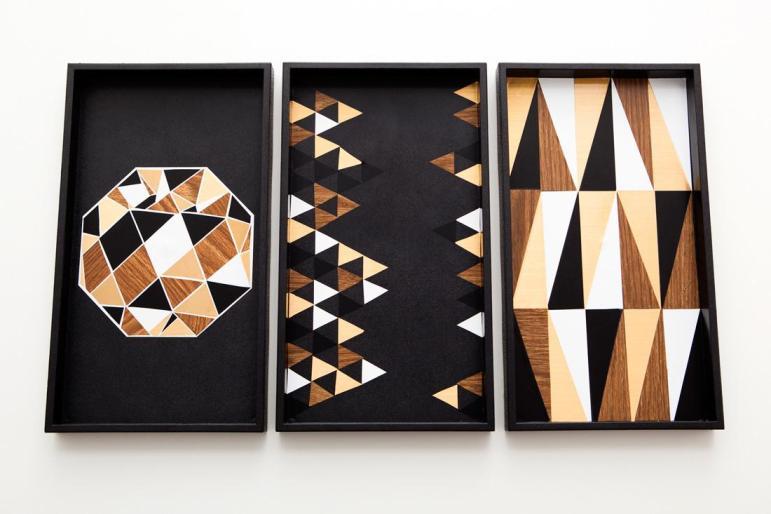 Organize Yourself Diy Geometric Patterned Trays Brit