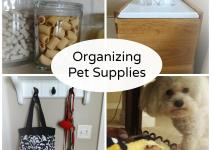 Organizing Puddy Doggie Supplies House