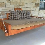 Original Hanging Porch Swing Bed Round Outdoor