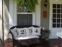 Our Vintage Home Love Front Side Porch Redo