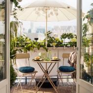 Outdoor Garden Furniture Ideas Small Balcony