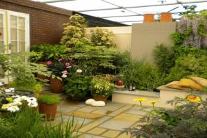 Outdoor Garden Wall Design Indoor Container Gardens