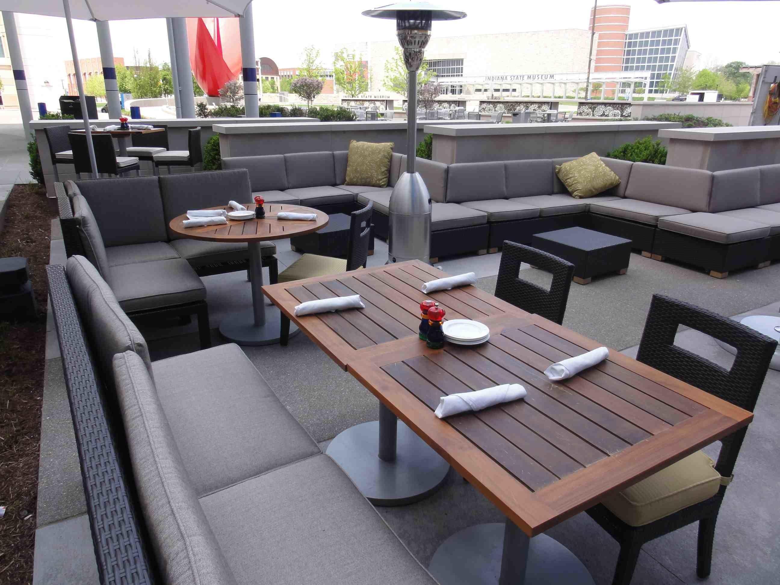 Outdoor Restaurant Seating Ideas Exterior Design Superb Decoratorist 214718
