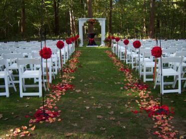 Outdoor Wedding Decorations Living Room