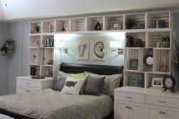 Over Bed Shelving Ideas Shelves