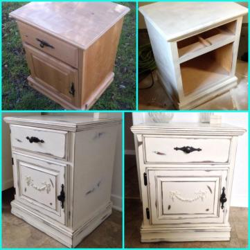 Paint Wood Furniture Distressed Finish