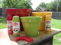 Painted Flower Pots Clay Pot Crafts